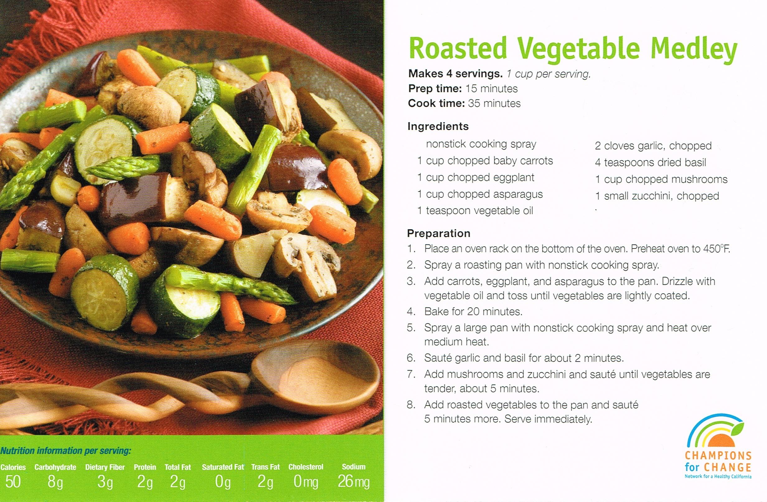Roasted Vegetable Medley (short)